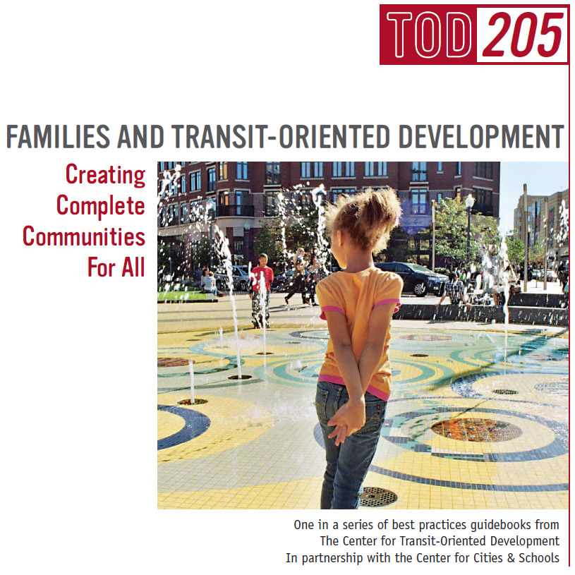 TOD 205 Cover - Girl standing in plaza at Columbia Heights, Washingon, DC